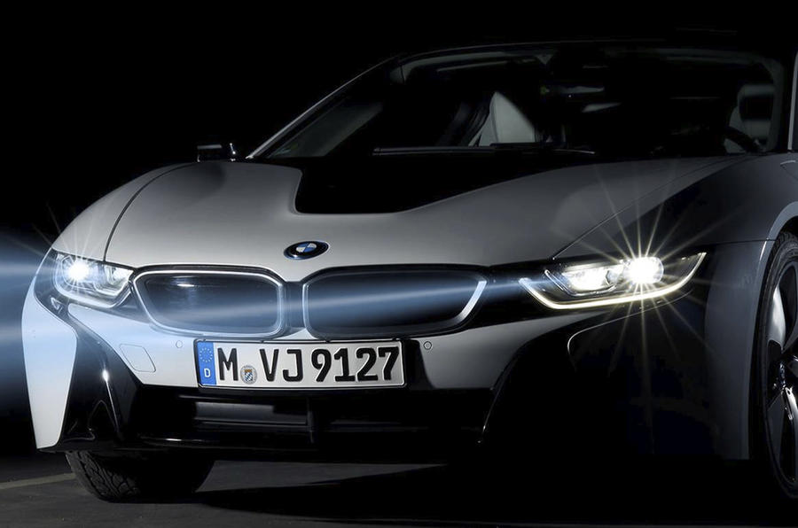 BMW i8 will be first to offer new laser lighting tech  Autocar