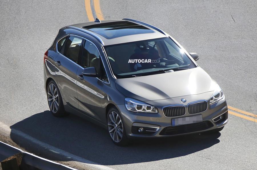 BMW 2-series Active Tourer seen undisguised