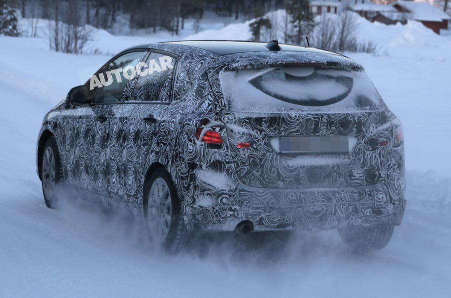 BMW 2-series Active Tourer spotted testing - latest pictures