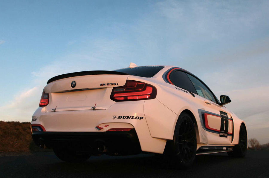 BMW M235i Racing officially launched