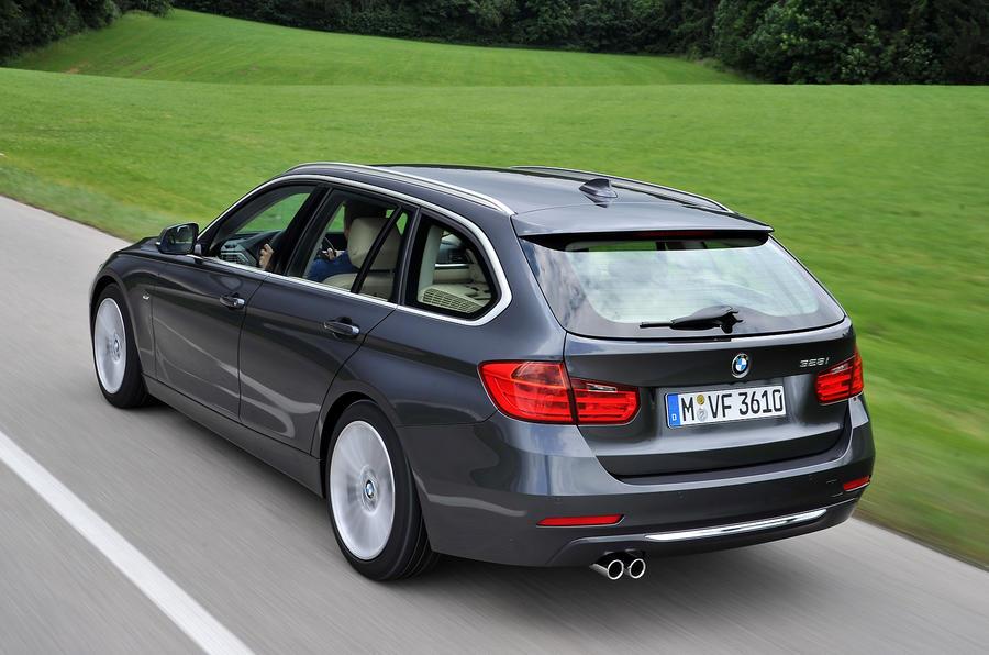 BMW 328i Touring rear