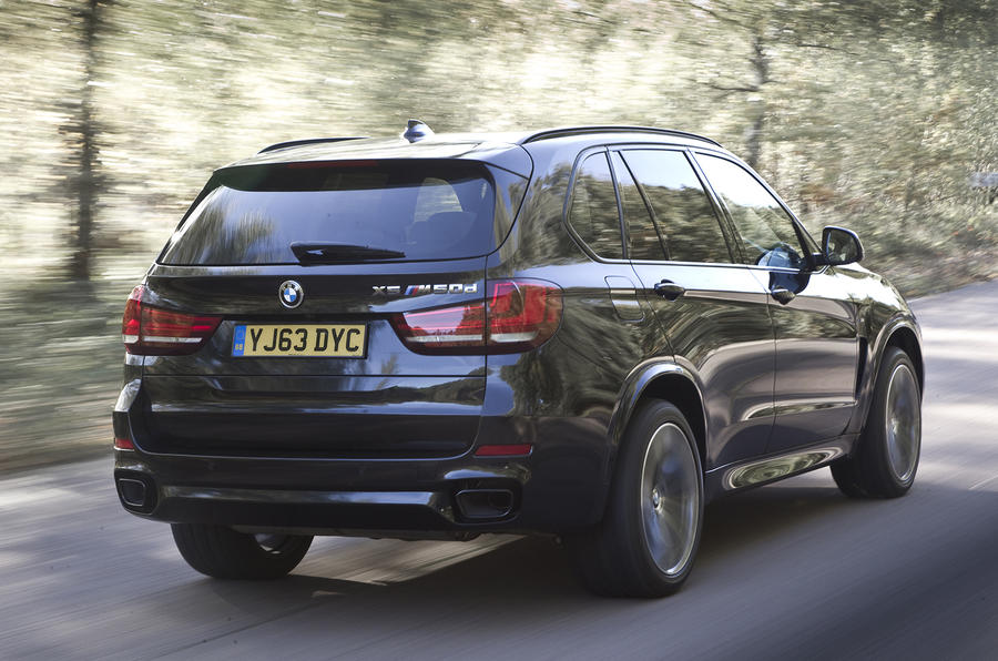 BMW X5 rear quarter