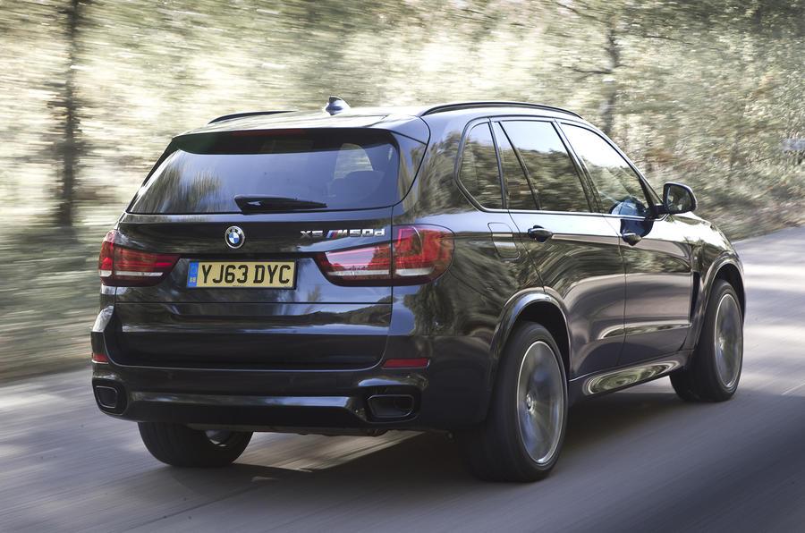 BMW X5 rear quarter