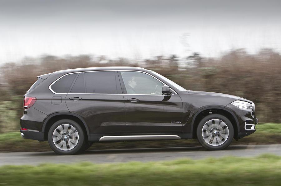 BMW X5 UK side profile