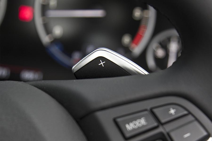 BMW X5 paddle shifter