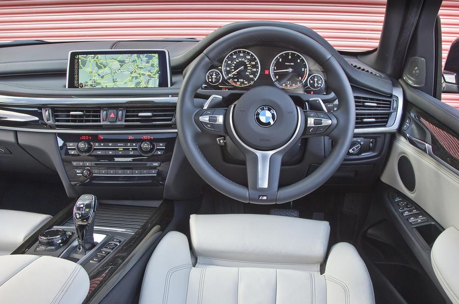 ... BMW X5 Interior ...