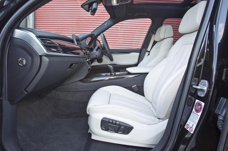 BMW X5 front seats