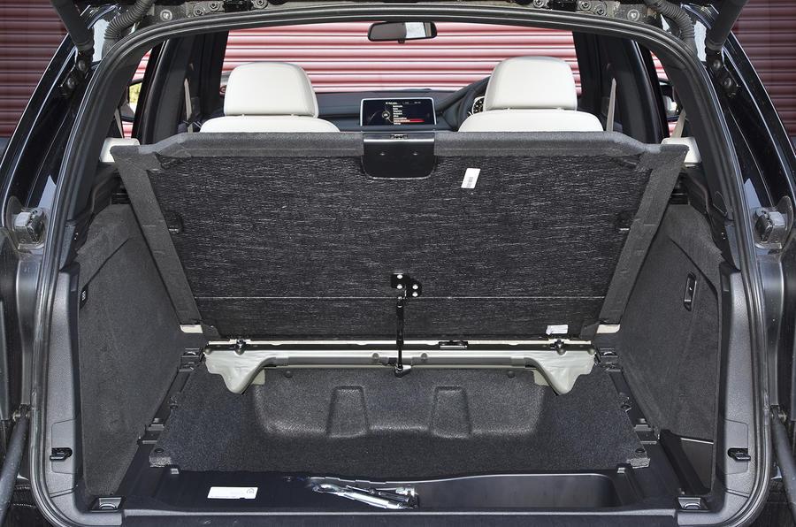 BMW X5 seat flexibility