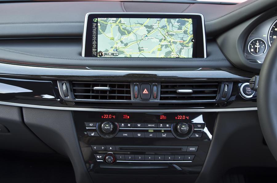 BMW X5 iDrive infotainment system