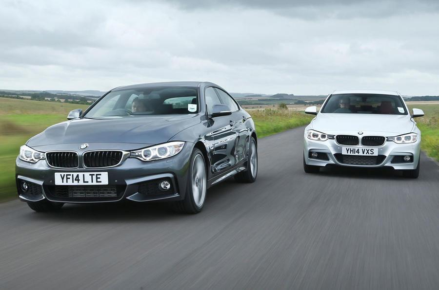 Comparison BMW D Gran Coupe Versus D Saloon Autocar - Bmw 420d gran coupe