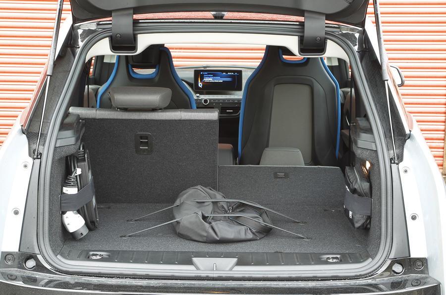 BMW i3 seat flexibility