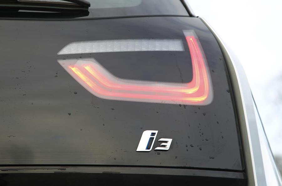 BMW i3's rear lights