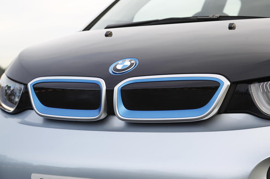 BMW i3's front capped grille