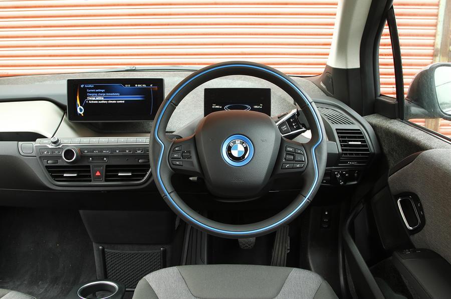 Bmw i3 review 2017 autocar for Bmw i3 interior photos