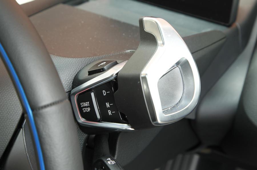 BMW i3 automatic gearbox