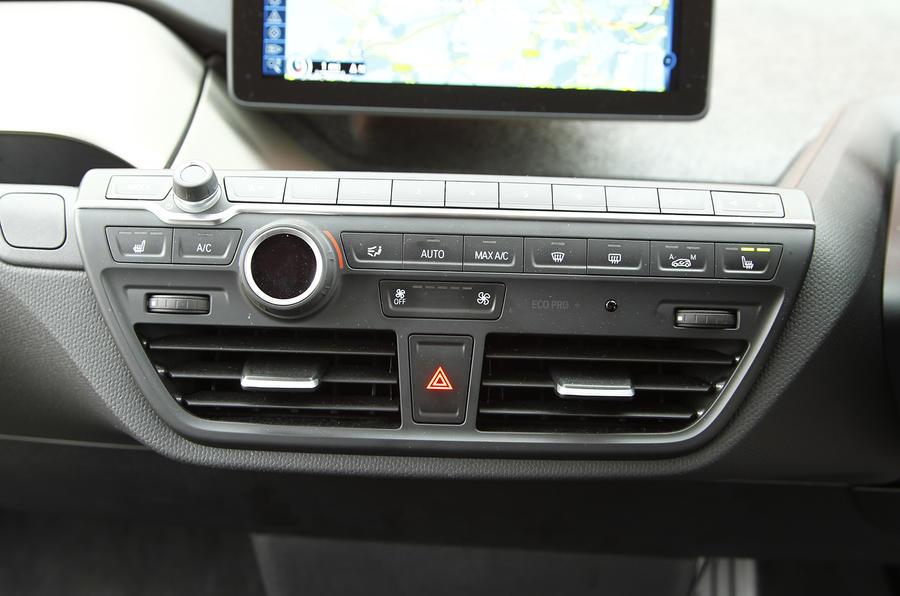 BMW i3's switchgear