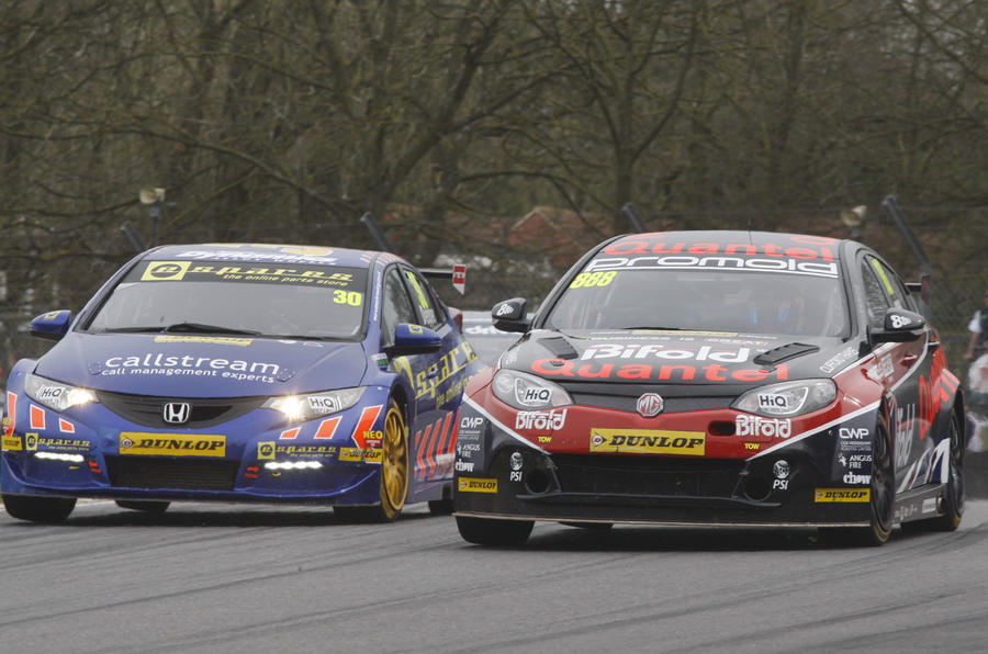 The challenge of maintaining touring car driving standards