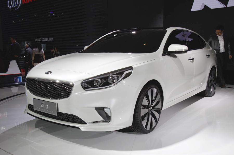 Kia K4 concept revealed in Beijing