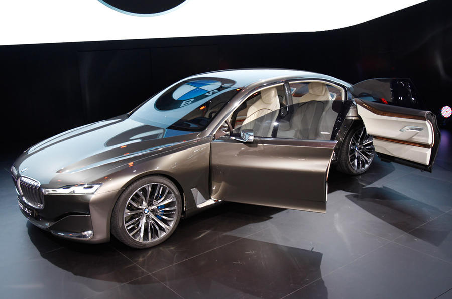 BMW 7 Series Previewed In Vision Future Luxury Concept
