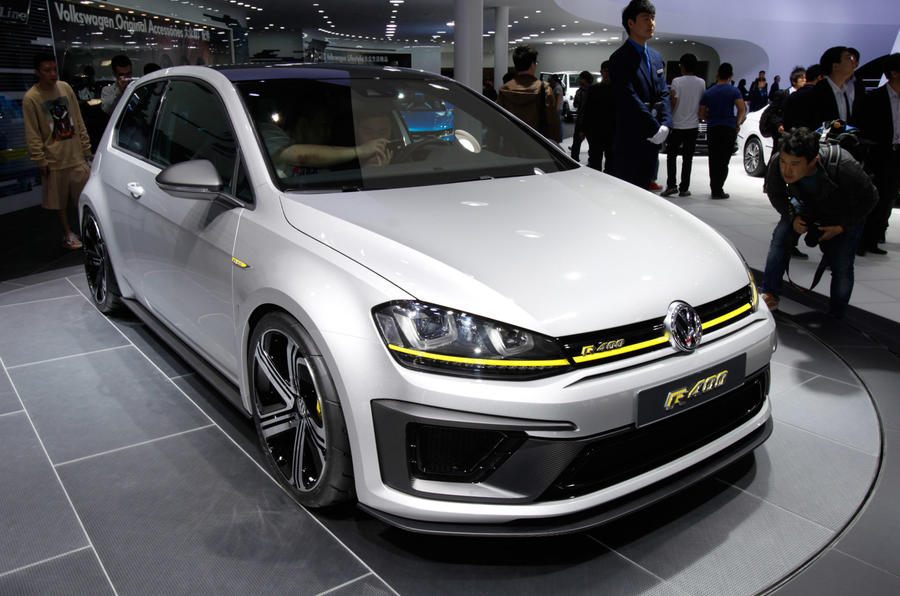 volkswagen golf r400 mega hatch could make production autocar. Black Bedroom Furniture Sets. Home Design Ideas