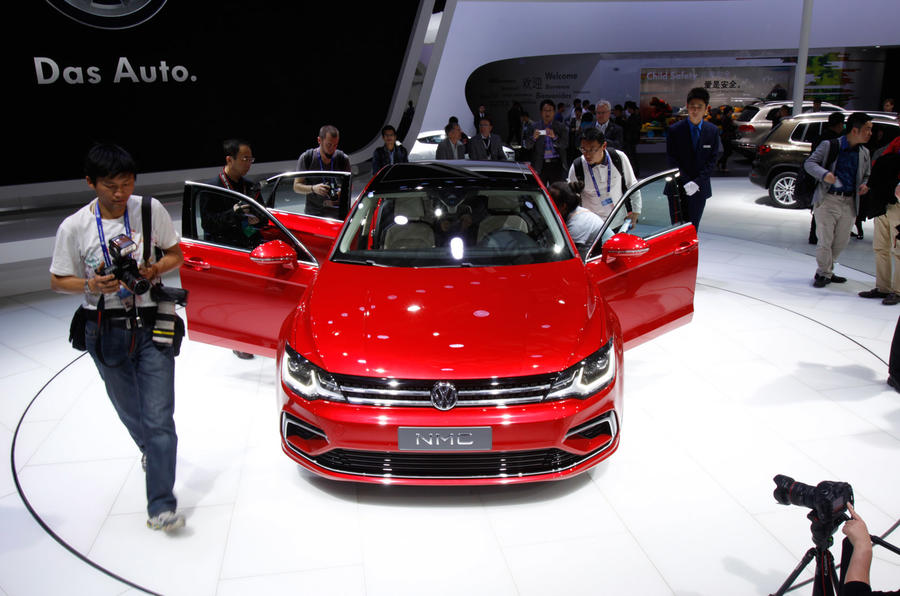 Volkswagen New Midsize Coupe concept revealed in Beijing