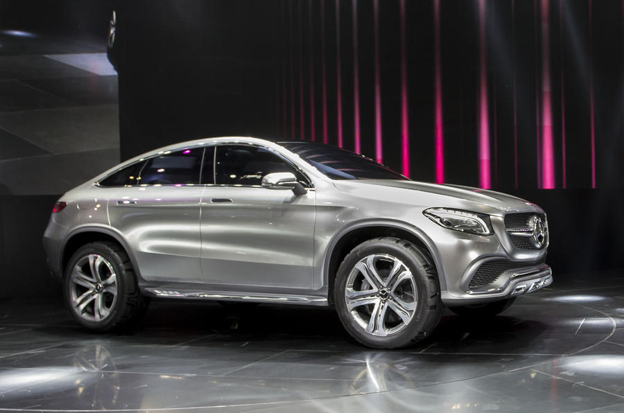 Mercedes Concept Coupe SUV to rival BMW X6