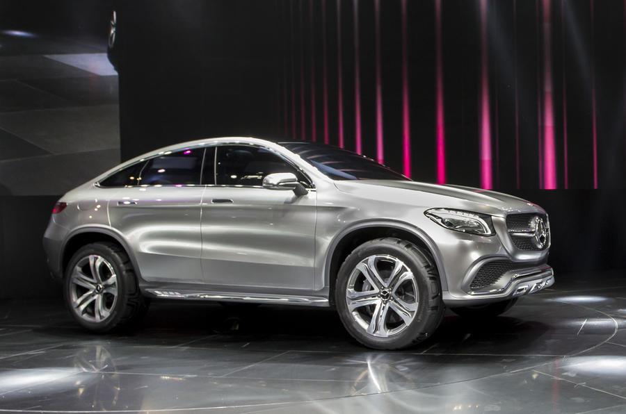 Mercedes Concept Coupe Suv Unveiled Autocar