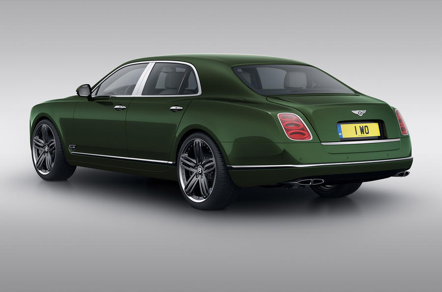 Bentley Mulsanne Le Mans Limited Edition for Pebble Beach