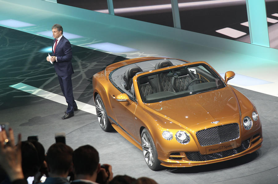 New Continental GT Speed is fastest Bentley ever