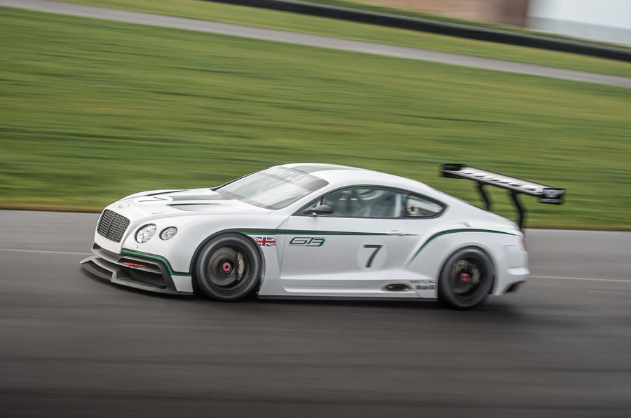 Paris motor show 2012: Bentley Continental GT3