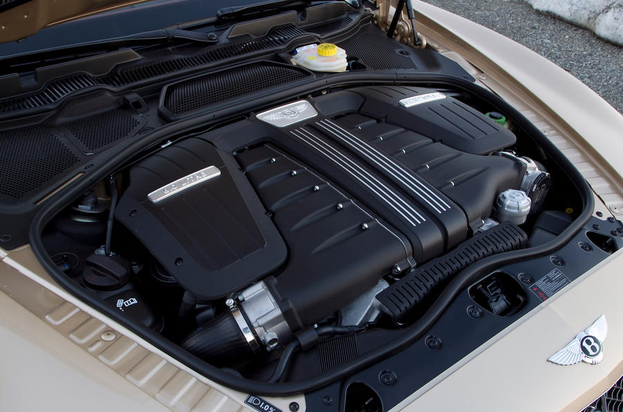 6.0-litre W12 Bentley Continental engine