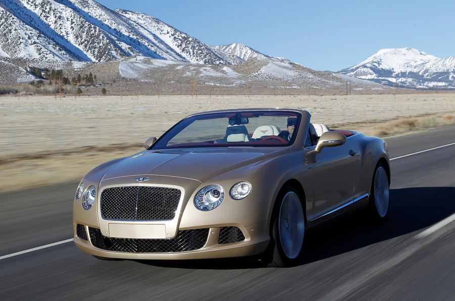 £167,900 Bentley Continental GTC Speed
