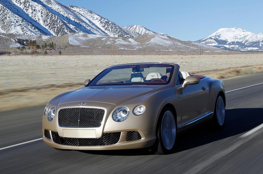 £167,900 Bentley Continental GTC Speed