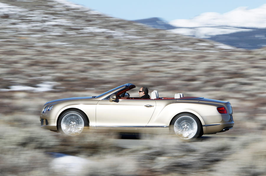 202mph Bentley Continental GTC Speed