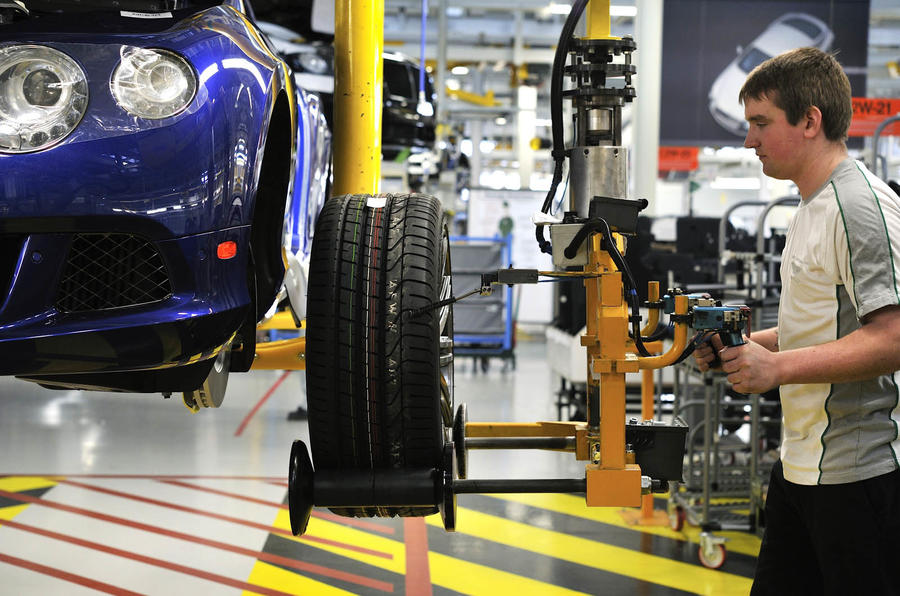 Why the UK car industry needs more skilled youngsters