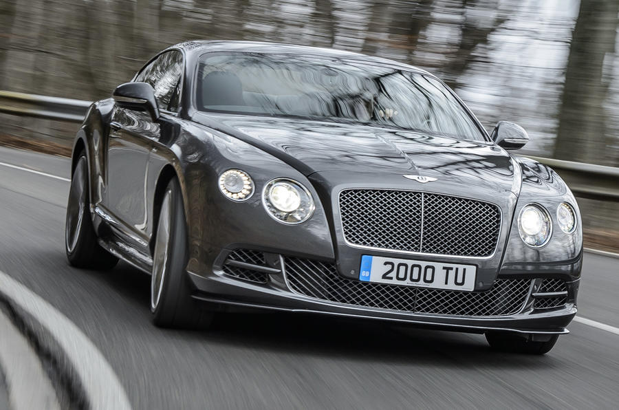 More power for new Bentley Continental GT Speed