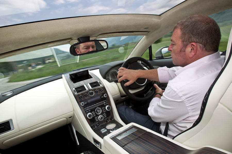 Aston Martin Rapide estate considered