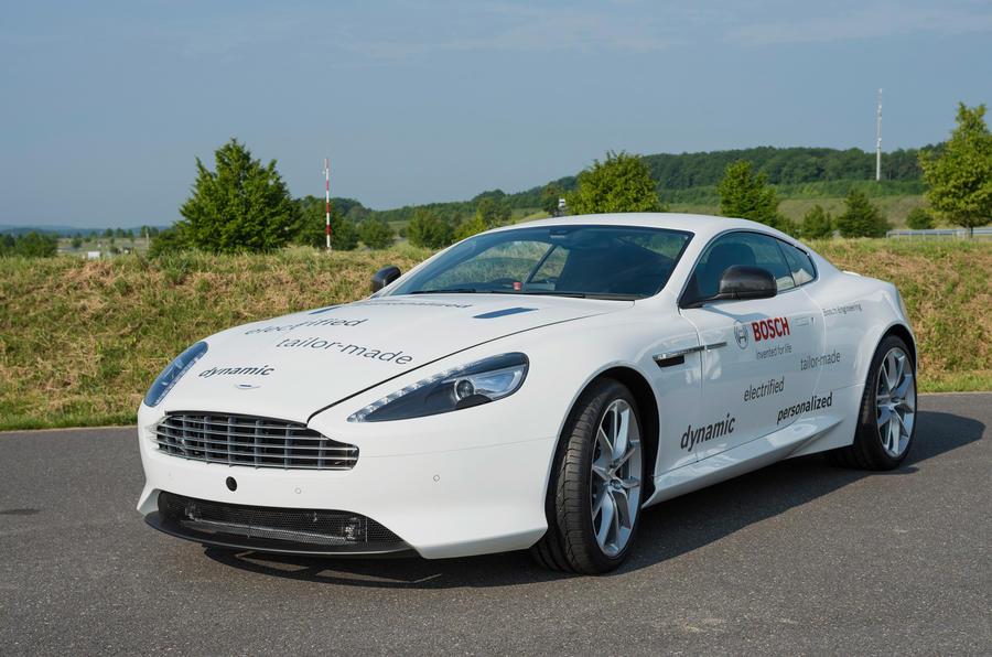 "Hybrid Aston Martin DB9 will ""enhance dynamics"""
