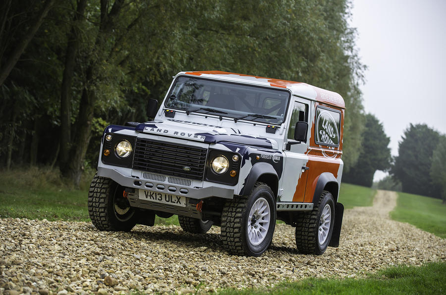 Land Rover's Defender Challenge is the best new route into motorsport