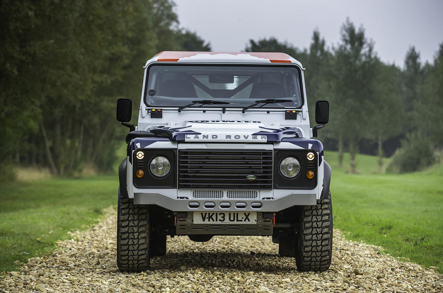 Bowler Motorsport Land Rover Defender Challenge First Drive