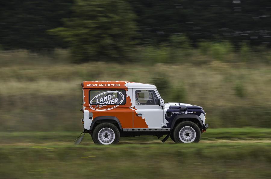 £60,000 Land Rover Defender Challenge