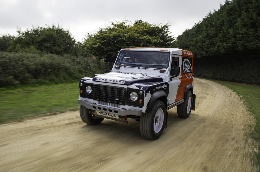 170bhp Land Rover Defender Challenge