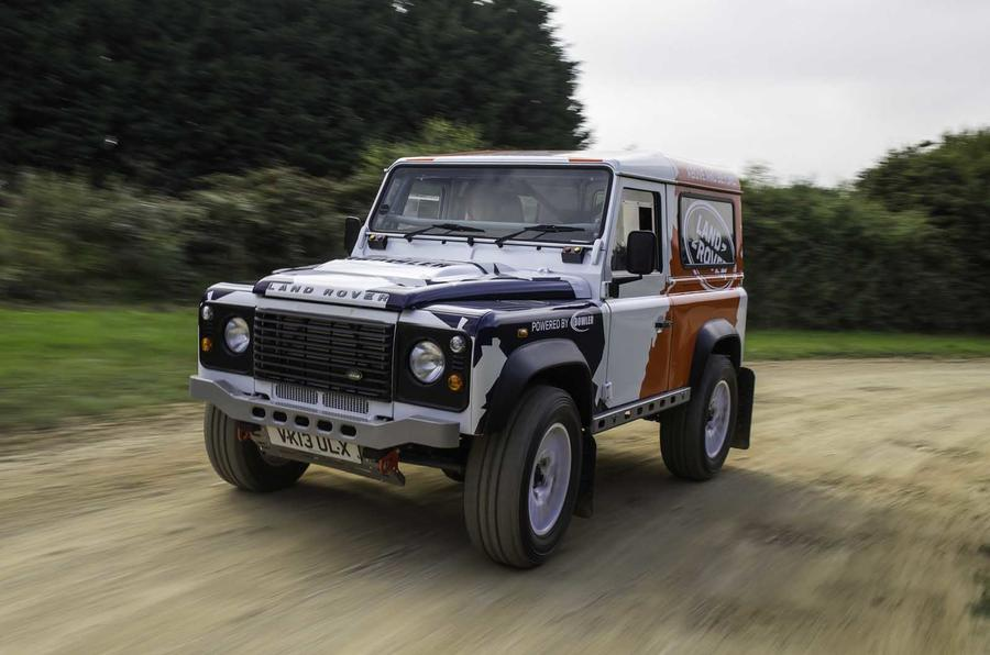 Land Rover Defender rally series launched