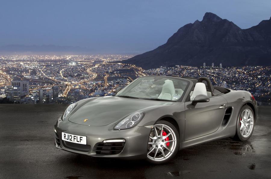5 star Porsche Boxster