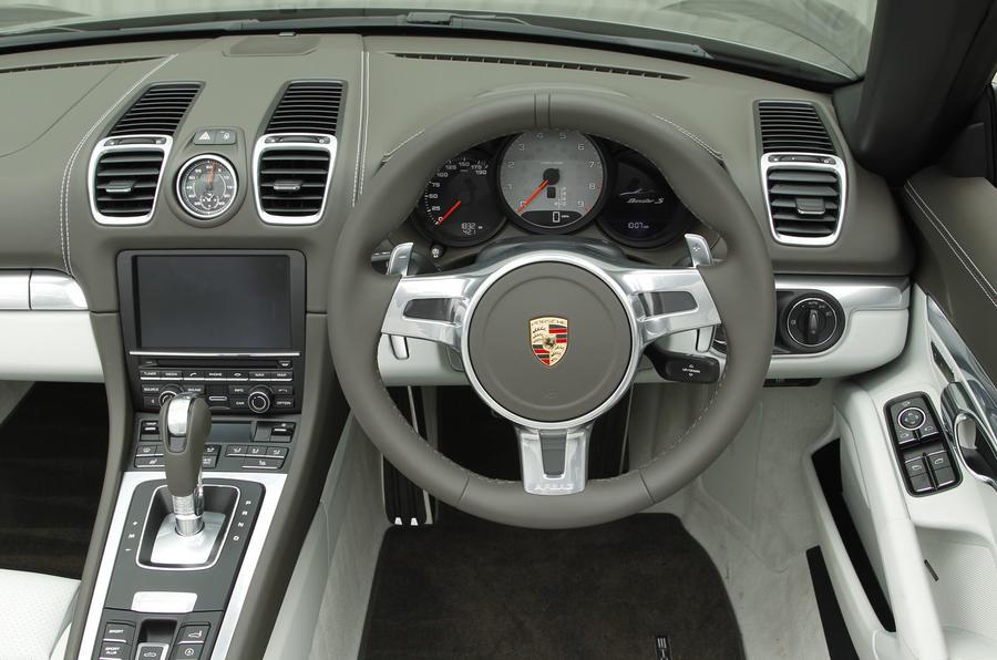 Porsche Boxster dashboard