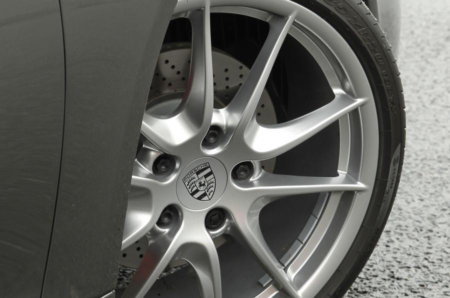 Porsche Boxster alloy wheels