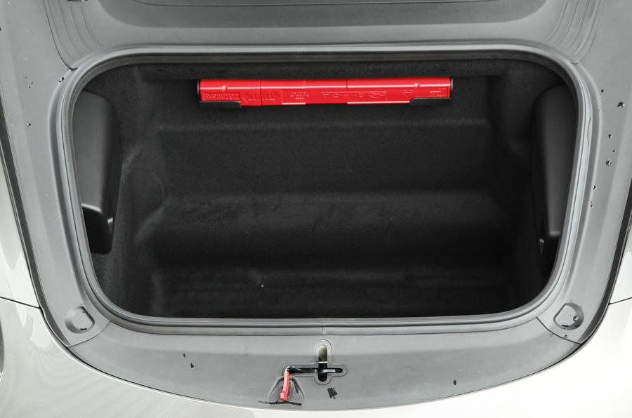 Porsche Boxster boot space