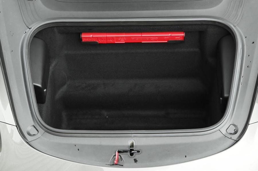 Porsche Boxster boot space