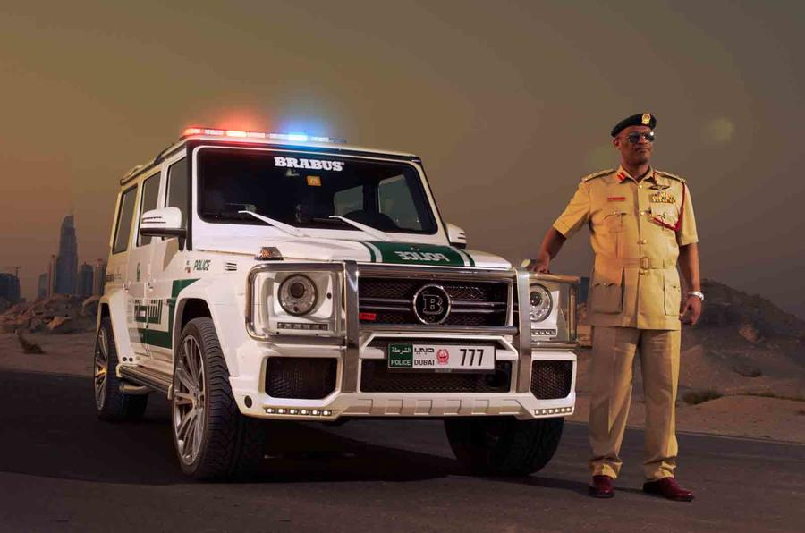 Brabus-tuned 700 Widestar gets Dubai motor show debut