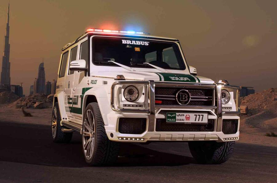 Brabus-tuned 700 Widestar gets Dubai motor show debut
